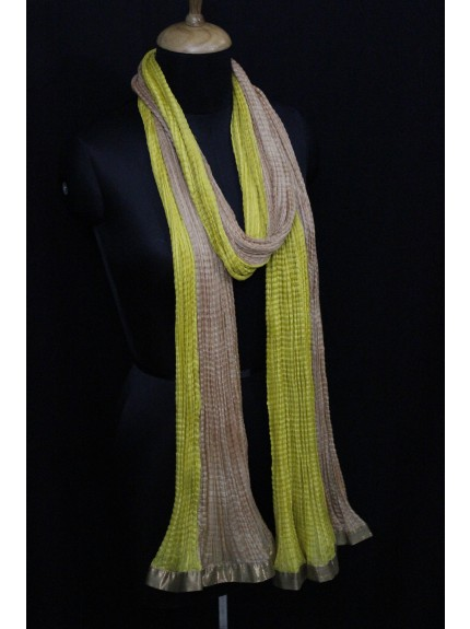 Dupatta Yellow Gold