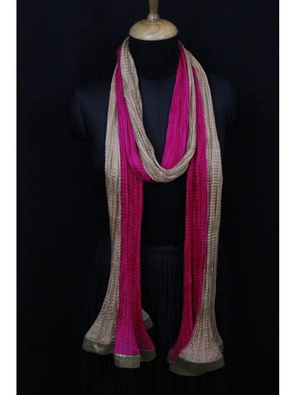 Dupatta Pink Gold